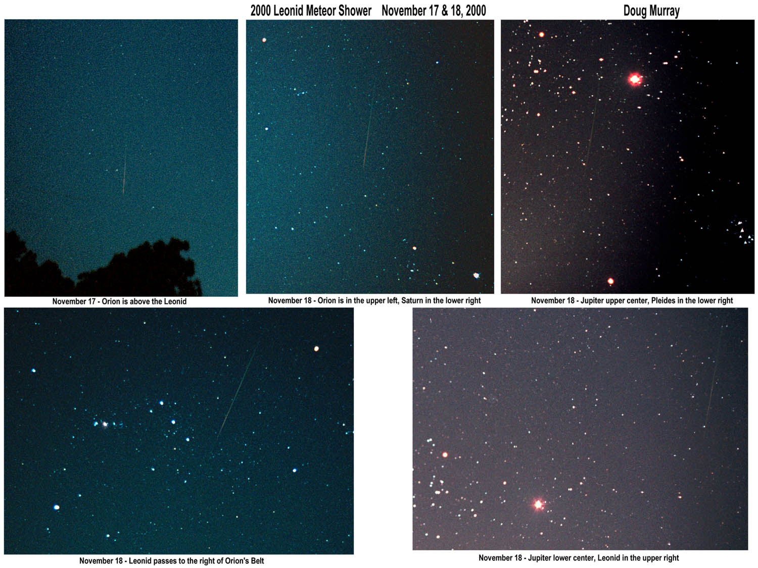 A 2000 Leonid Through Orion