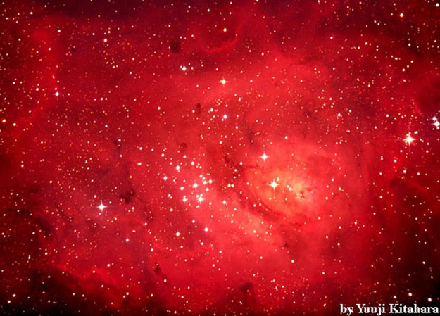 M8: In the Center of the Lagoon Nebula