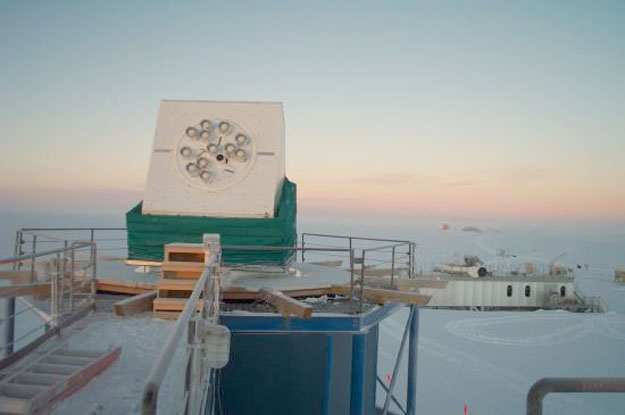 Antarctica Hears Little Matter in the Big Bang