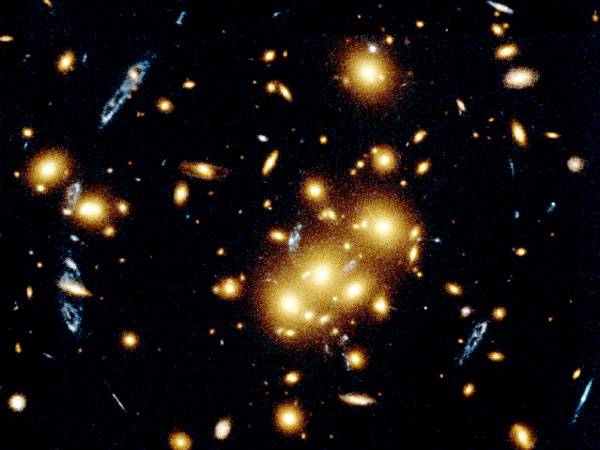 Giant Cluster Bends, Breaks Images