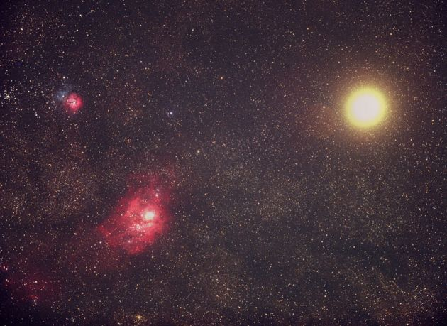Messiers and Mars