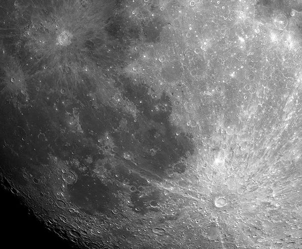 Tycho and Copernicus: Lunar Ray Craters