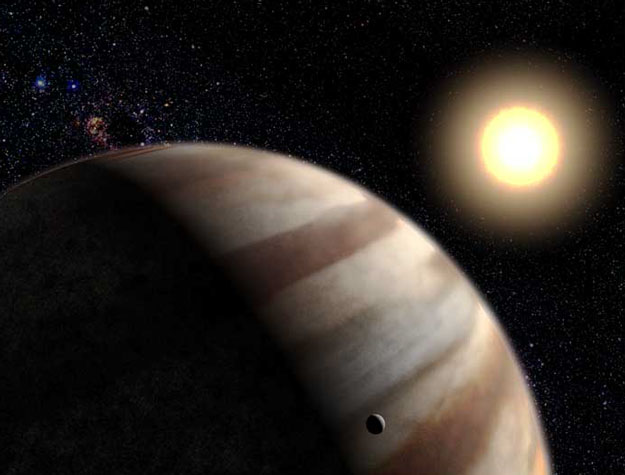 Extra Solar Planetary Atmosphere Detected