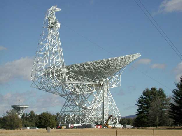 The 100 Meter Green Bank Radio Telescope