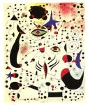 "Joan Miro, ""Ciphers and Constellations in Love with a Woman"" (1941)"