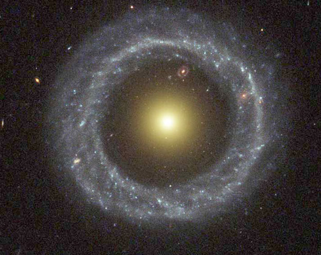 Hoags Object: A Strange Ring Galaxy