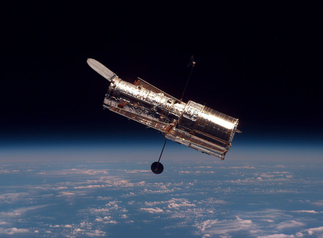 Hubble Floats Free