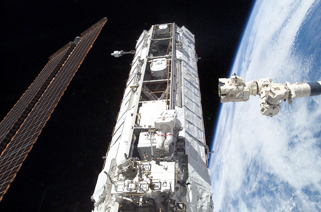 Beefing Up the International Space Station