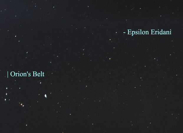 Nearby Star Epsilon Eridani Has a Planet