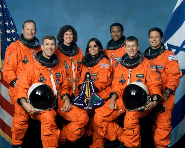 Space Shuttle and Crew Lost During ReEntry