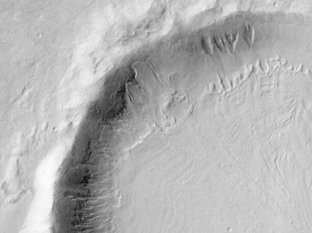 Melting Snow and the Gullies of Mars