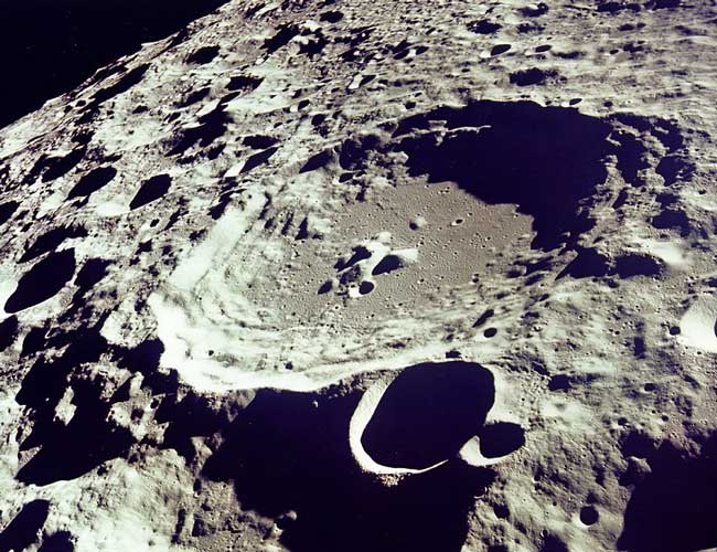 Lunar Farside from Apollo 11
