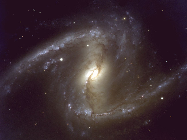 NGC 1365: A Nearby Barred Spiral Galaxy