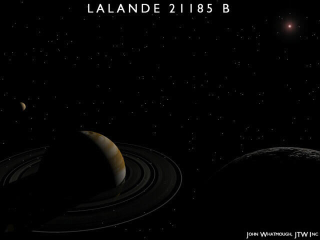 Lalande 21185: The Nearest Planetary System?