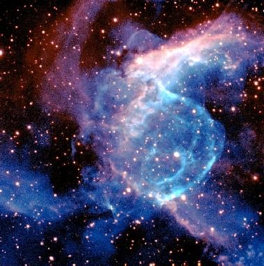 Bubbles and Arcs in NGC 2359