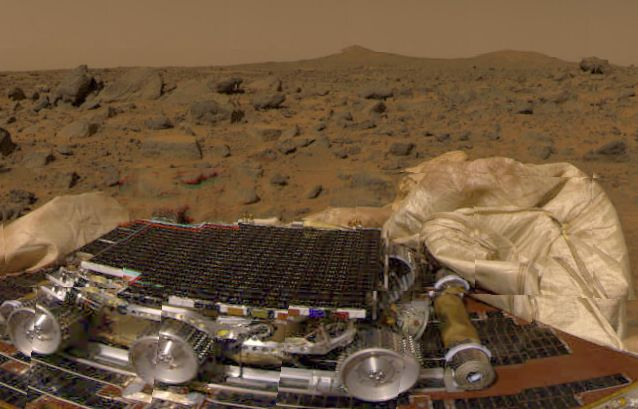 Pathfinder on Mars