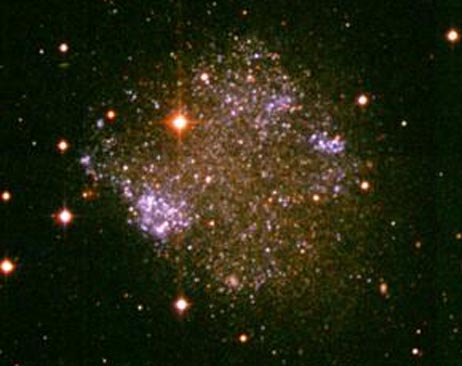 Irregular Galaxy Sextans A