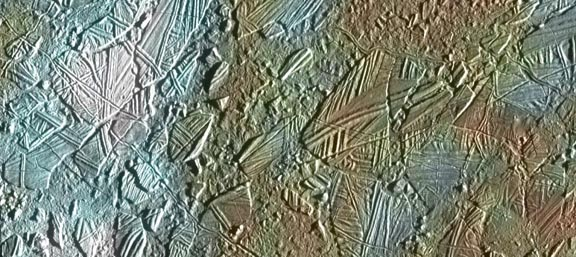 Europa's Disconnected Surface