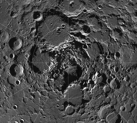 Water Ice At The Lunar Poles