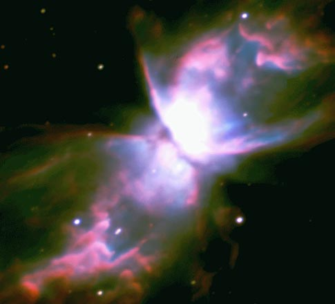 NGC 6302: The Butterfly Nebula