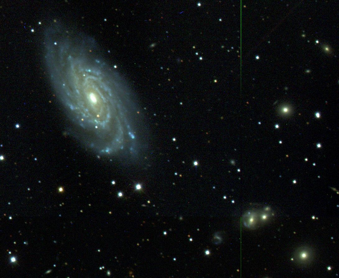 NGC 6070: First Light for Sloan