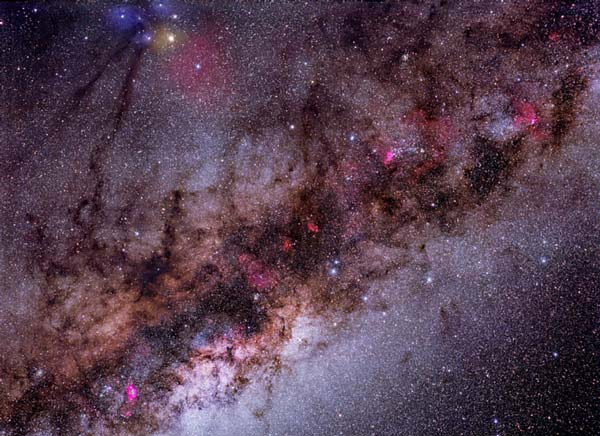 Our Galaxy in Stars, Gas, and Dust
