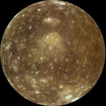 Callisto in True Color