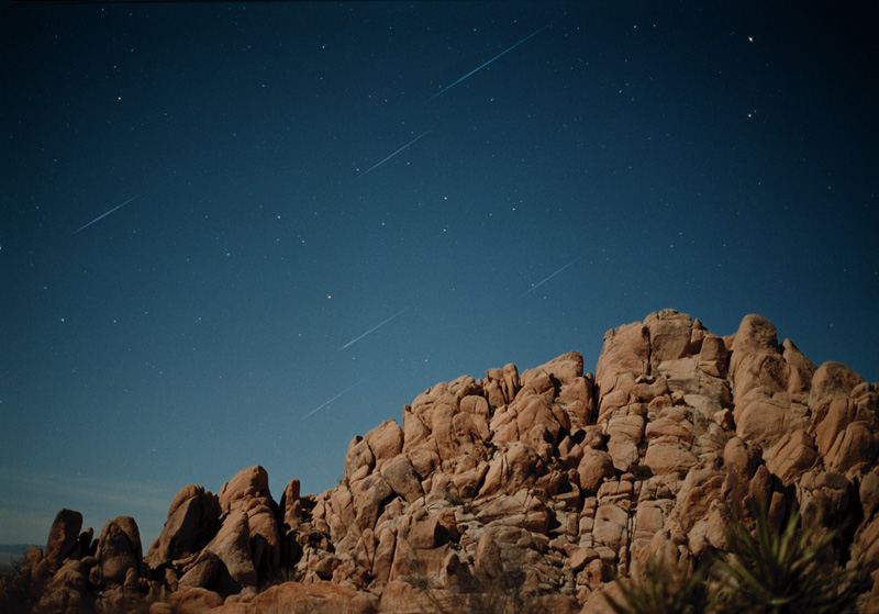 Leonids Over Indian Cove