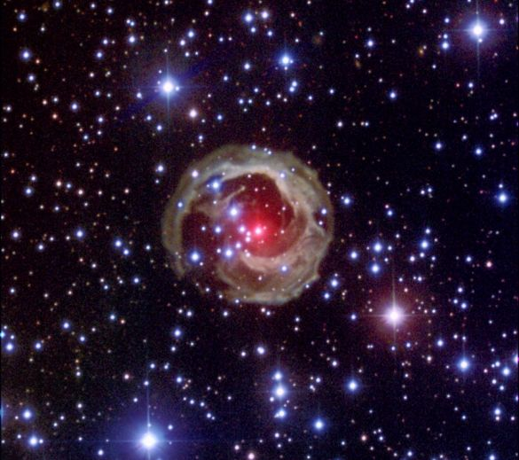 Startling Star V838 Mon
