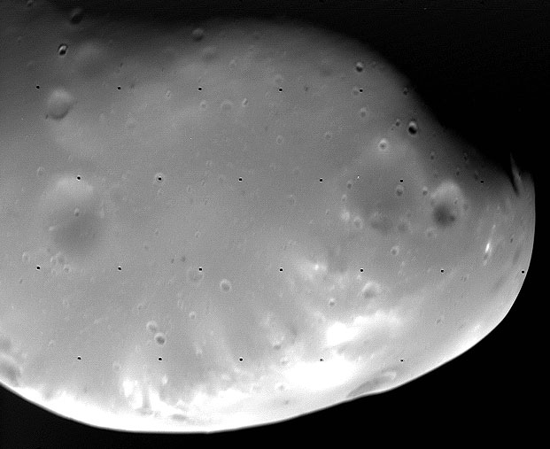 Deimos: A Small Martian Moon