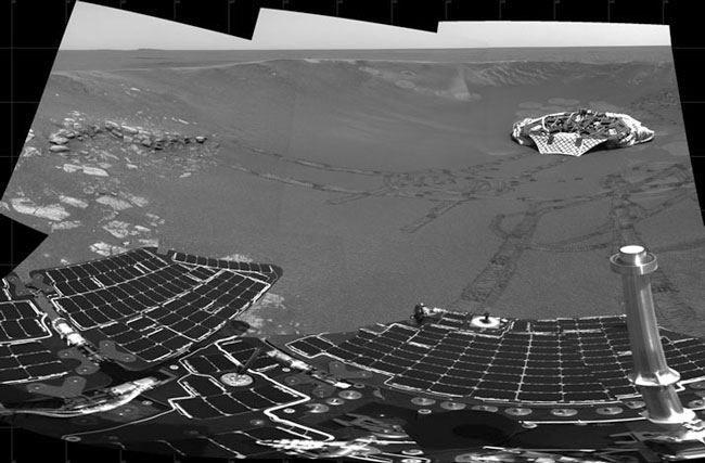 Opportunity Rover Indicates Ancient Mars Was Wet