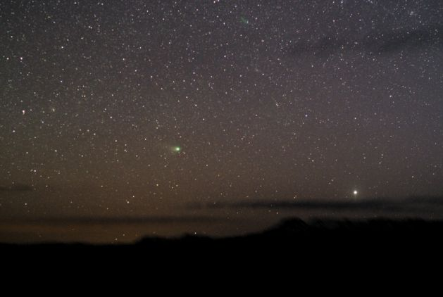 Look West for a NEAT Comet