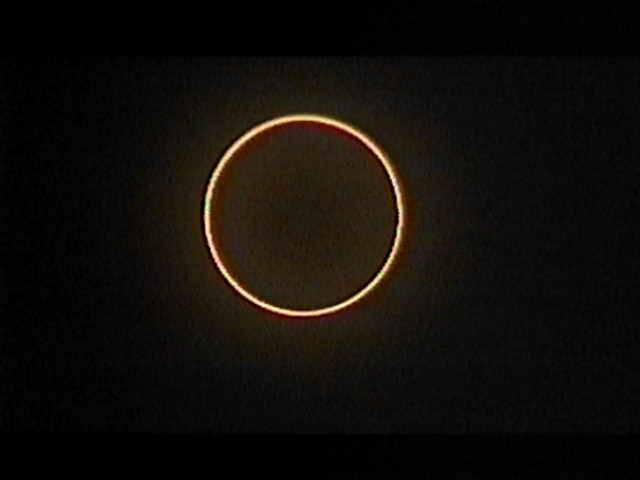 An Annular Eclipse of the Sun