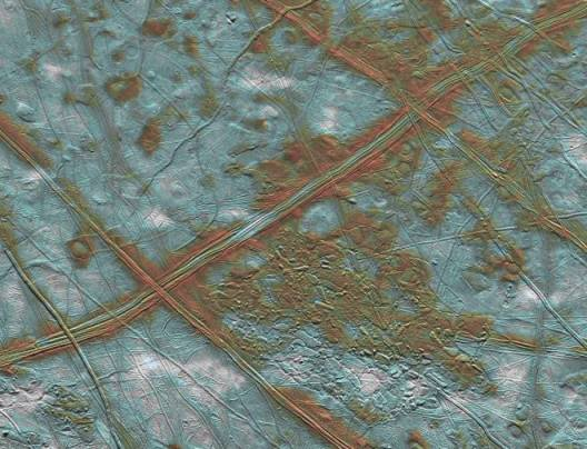 Europa: Ridges and Rafts on a Frozen Moon
