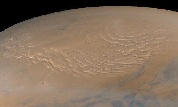 The North Pole Of Mars