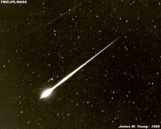 A Leonid Fireball From 1966