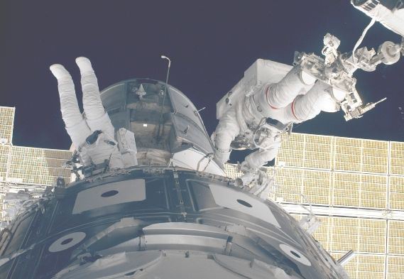 Assembling The International Space Station