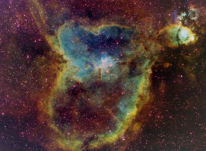 IC 1805: Light from the Heart