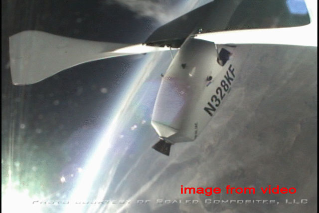 SpaceShipOne Wins the X Prize