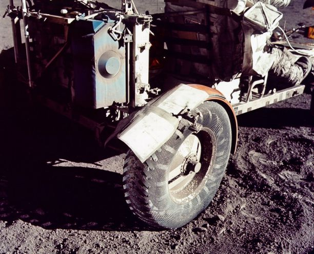 Lunar Dust and Duct Tape