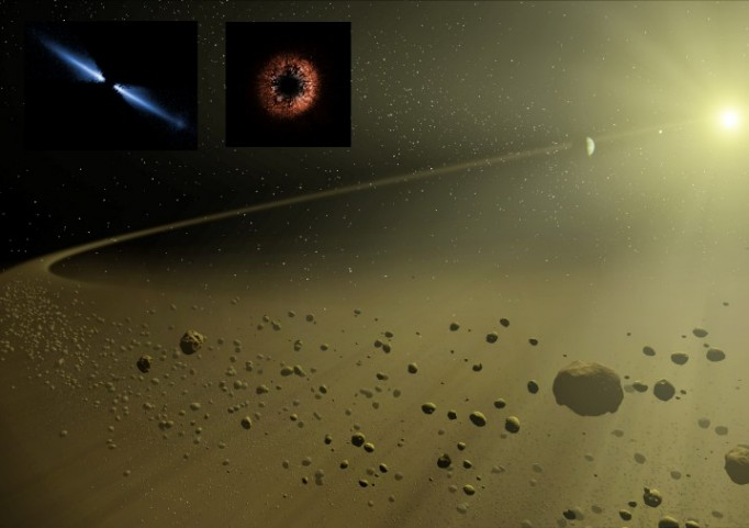 Debris Disks Surround Distant Suns