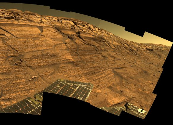 A Year of Mars Roving
