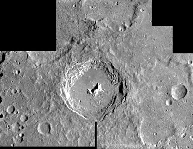 SMART 1:  Pythagoras Crater