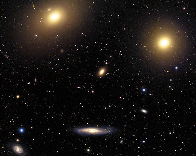 In the Center of the Virgo Cluster