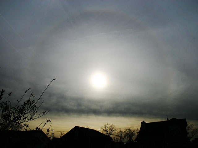 A Sun Halo Over Tennessee