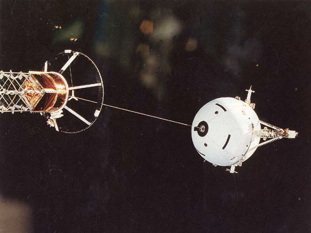 A Tether in Space