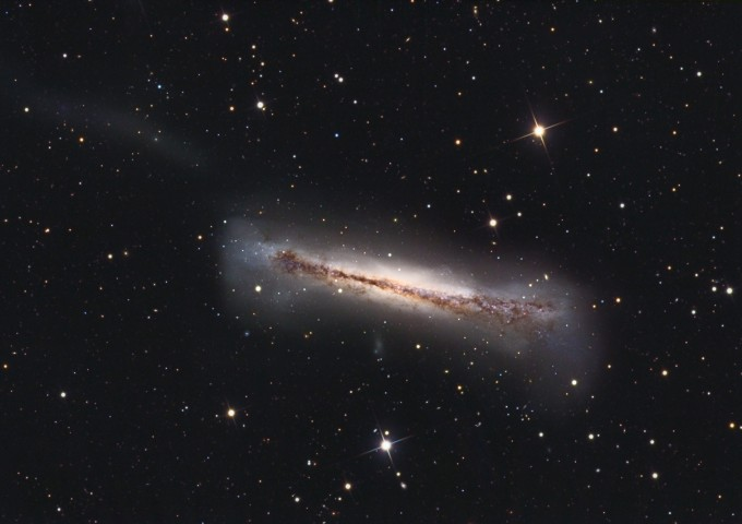 Sideways Galaxy NGC 3628