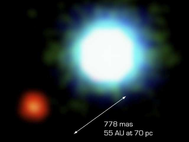 The First Image of an Extra Solar Planet