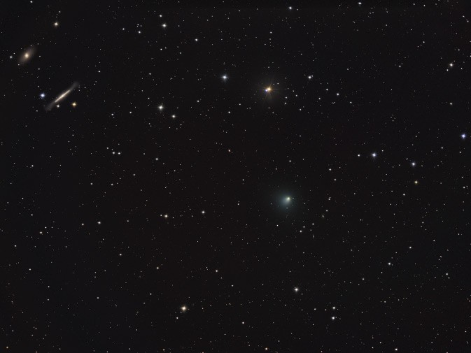 Stars, Galaxies, and Comet Tempel 1