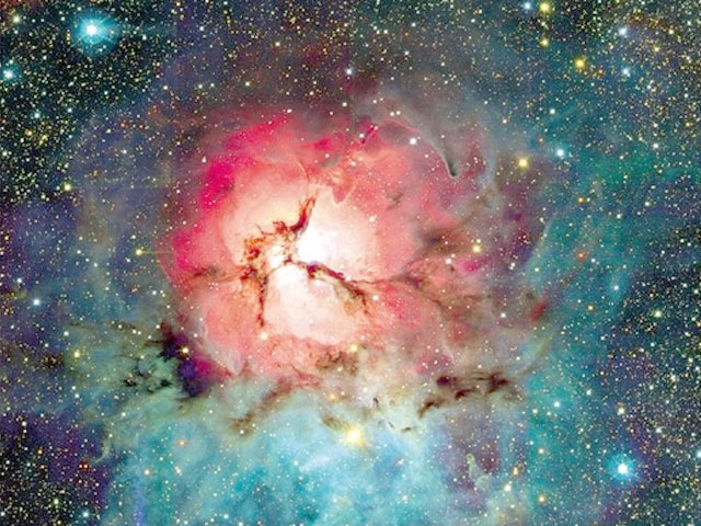 The Trifid Nebula from CFHT